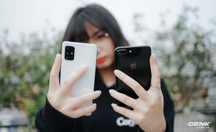 Camera 64MP trên smartphone đời mới hay 12MP trên flagship đời cũ? Thử so Galaxy A71 với iPhone 7 Plus là biết ngay