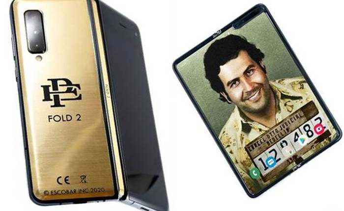 """Tuyên bố """"Samsung đã chết"""", anh trai trùm ma tuý Pablo Escobar bán Galaxy Fold """"đội lốt"""" giá chỉ 399 USD"""