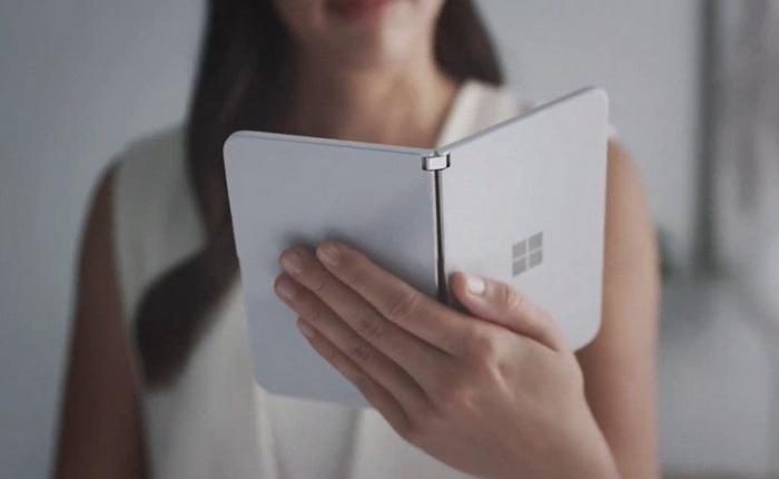 Microsoft Surface Duo đã xuất hiện ngoài thực tế, sẽ sớm bán ra trên thị trường?
