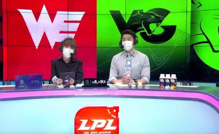 Esports mùa dịch Covid-19: game thủ và caster Trung Quốc đeo khẩu trang tham gia giải