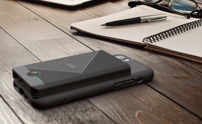 Pin dự phòng của Xvida cho phép bạn sạc không dây iPhone ở bất kỳ đâu