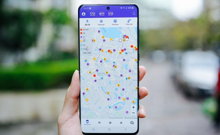 Hà Nội ra mắt ứng dụng giám sát người cách ly bằng GPS, tích hợp bản đồ online hiển thị địa bàn có người nghi nhiễm COVID-19