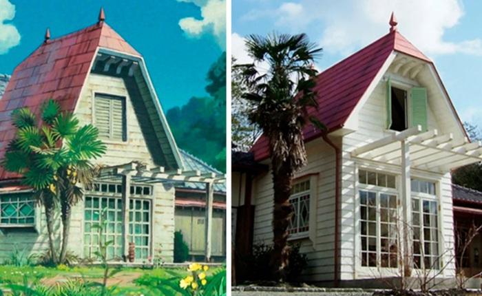 Xem căn nhà trong phim hoạt hình My Neighbor Totoro được tái hiện hoàn chỉnh ngoài đời thật, đúng đến từng chi tiết