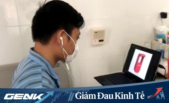 Nằm viện điều trị Covid-19, giảng viên ĐH Bách khoa sáng chế máy rửa tay, giá chỉ bằng 1/3 sản phẩm nhập ngoại