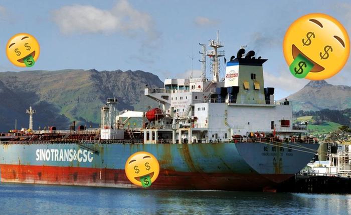 Nhân lúc giá dầu đang giảm mạnh, đầu tư mua tàu chở dầu trị giá cả chục triệu USD có khôn ngoan không?