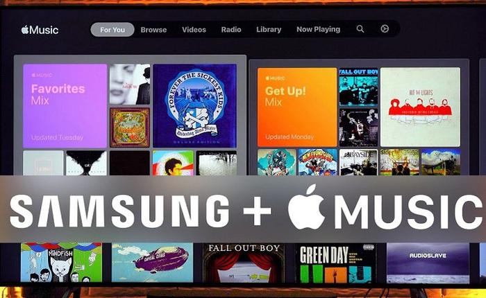 Vì sao Apple lại bỗng dưng đưa Apple Music lên TV của đối thủ Samsung?