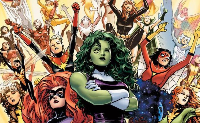 10 nữ anh hùng mạnh nhất biệt đội Avengers
