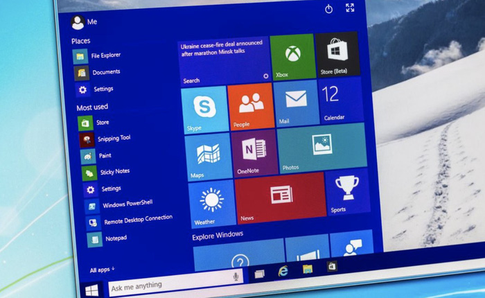 Thiếu niên 16 tuổi chạy thành công Windows 10 với chỉ 192MB RAM
