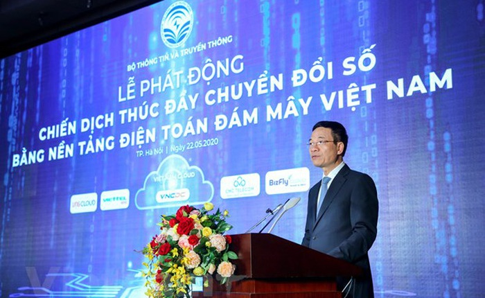"""Phát động chiến dịch thúc đẩy chuyển đổi số bằng điện toán đám mây nội địa, Việt Nam hướng tới """"số hóa"""" mọi mặt đất nước trong tương lai gần"""