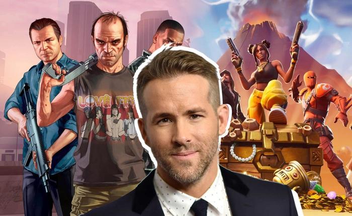 Bom tấn hành động tiếp theo của Ryan Reynolds sẽ giống như sự kết hợp giữa GTA và Fortnite