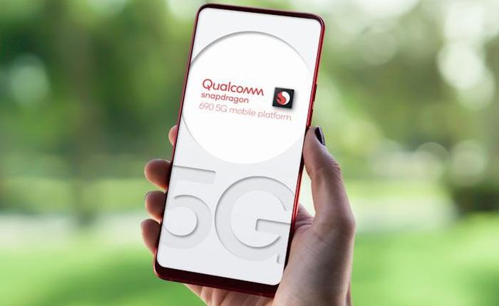 Qualcomm ra mắt bộ vi xử lý Snapdragon 690, mang công nghệ 5G đến với smartphone giá rẻ