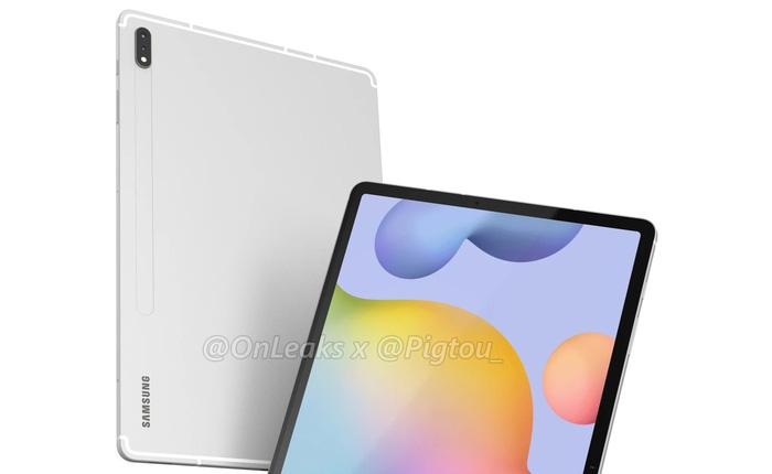 Đây là Galaxy Tab S7 Plus: Màn hình 12.4 inch, camera kép, Snapdragon 865, pin 9800mAh