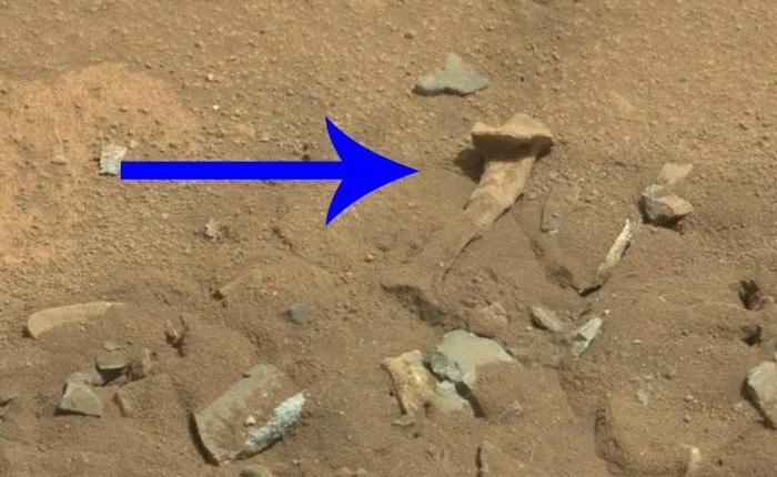 Sự thật về bức ảnh chụp 'xương người' trên bề mặt Sao Hỏa của NASA