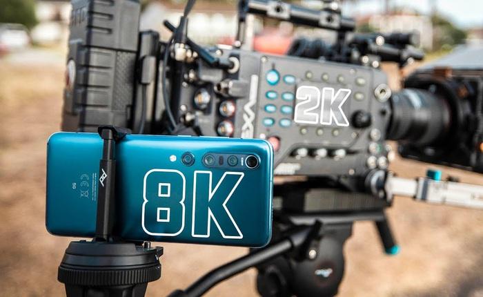 Camera chiến: So sánh smartphone quay video 8K với máy quay phim Hollywood chuyên nghiệp 10 năm tuổi