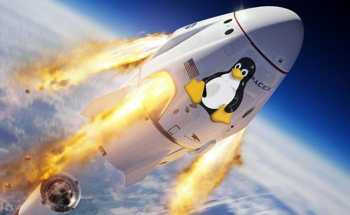 SpaceX dùng gì để đưa các phi hành gia lên trạm vũ trụ: Oxy lỏng, nhiên liệu, 3 CPU cũ kĩ và Linux