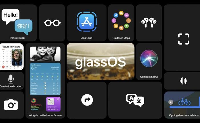 """Đây là cách iOS 14 có thể mở đường cho hệ điều hành """"glassOS"""" của Apple"""