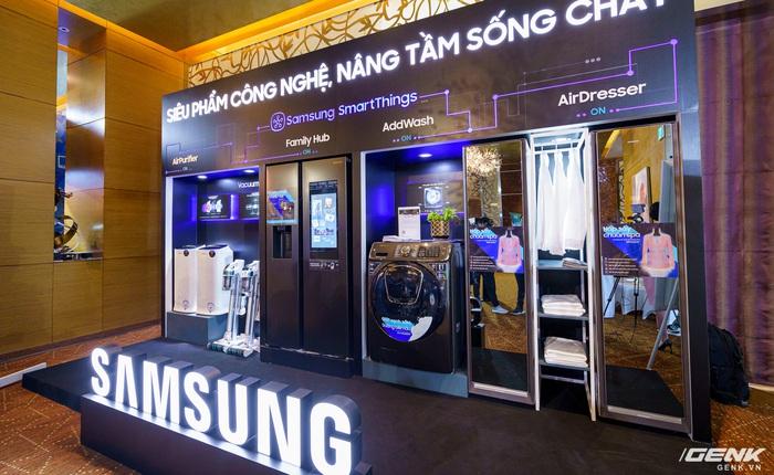 Samsung trình diễn dải sản phẩm gia dụng cao cấp dẫn đầu xu hướng IoT