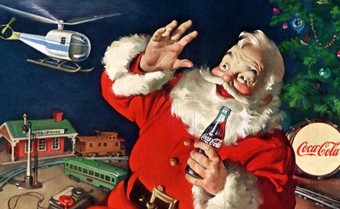 Bí mật bất ngờ: Chính Coca-Cola một tay dựng nên hình tượng ông già Noel bụng phệ, râu trắng khoác áo đỏ huyền thoại của dịp giáng sinh