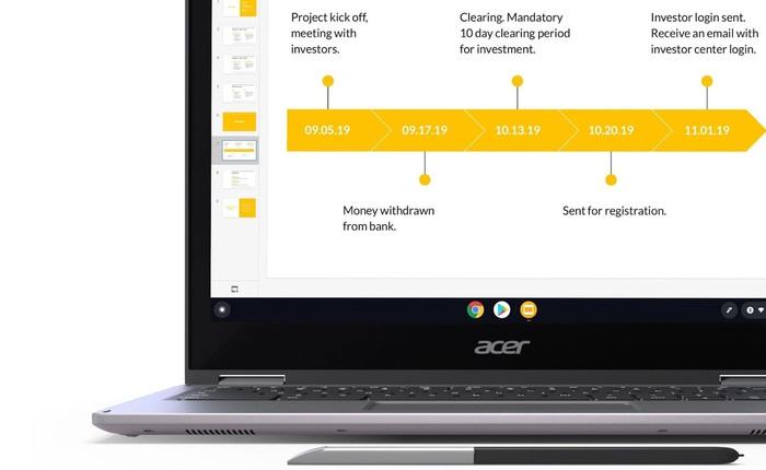 Google sẽ tung ra Chromebook màn hình kép để đấu Microsoft Surface Neo