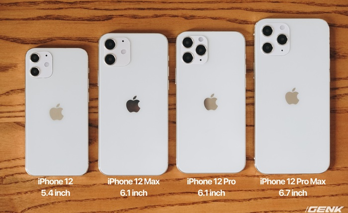 Trên tay mô hình iPhone 12, iPhone 12 Max, iPhone 12 Pro và iPhone 12 Pro Max tại Việt Nam