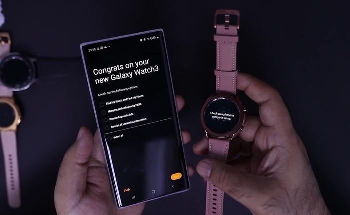 Đây là Galaxy Watch 3 sắp được Samsung ra mắt