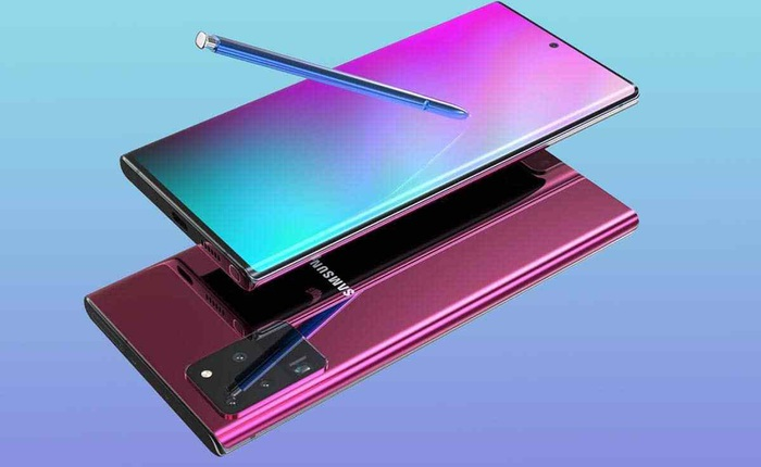 Màn hình Galaxy Note 20 sẽ đẹp và bền gấp đôi các đối thủ khác