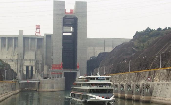 Kỳ quan trong kỳ quan: thang máy tải trọng 3.000 tấn nằm bên trong đập Tam Hiệp