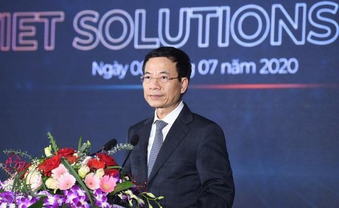 Bộ trưởng Nguyễn Mạnh Hùng: Tìm kiếm giải pháp chuyển đổi số quốc gia để thay đổi thứ hạng Việt Nam