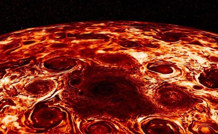 NASA tung ảnh chụp bề mặt Sao Mộc hệt như miếng pizza khổng lồ khiến nhiều tâm hồn ăn uống không khỏi rung rinh