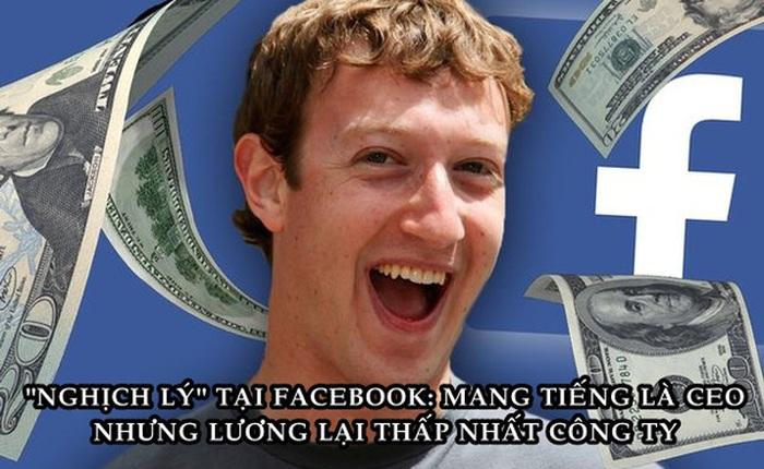 Hé lộ mức lương tại Facebook: Thấp nhất 1 USD, cao nhất lên tới hơn nửa triệu USD!