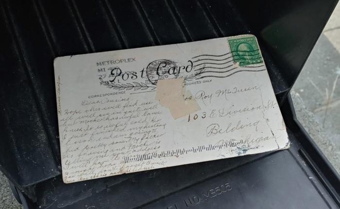 Cùng xem bức thư gửi 100 năm mới đến nơi để xem xưa kia người ta viết cho nhau những gì