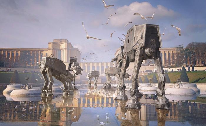 Quân đội Mỹ từng phát triển mẫu robot chiến đấu tuyệt mật bắt chước theo Star Wars