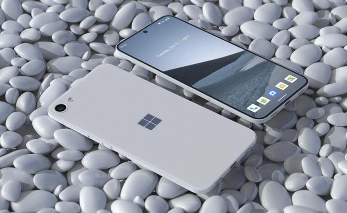 Ngắm ý tưởng Surface Solo: Chiếc smartphone truyền thống, không gập và không biết Microsoft có tính làm hay không