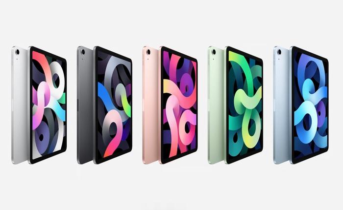 Giá iPad Air 4 tại VN đắt ngang iPad Pro 2018