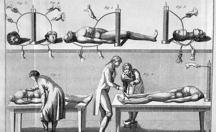 """Vào những năm 1800 nhân loại đã cố gắng tạo ra quái vật của Frankenstein ngoài đời thực bằng cách """"kích điện"""" xác chết"""