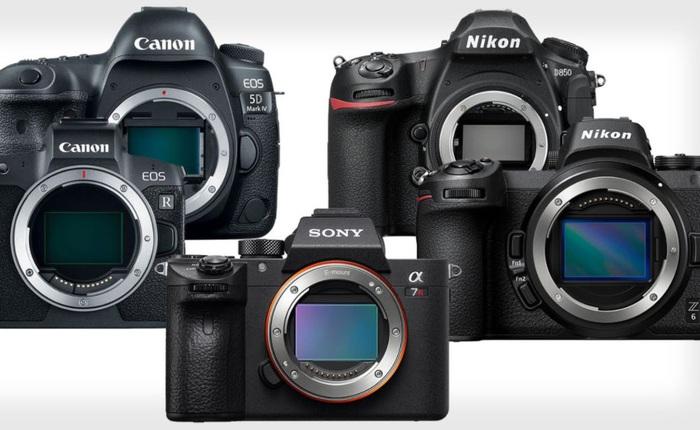 Số lượng máy ảnh bán ra trong 2019: Canon dẫn đầu DSLR, Sony vẫn khẳng định vị thế với Mirrorless
