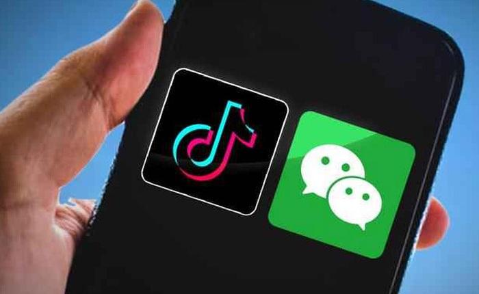 Lượng tải TikTok và WeChat tại Mỹ tăng vọt