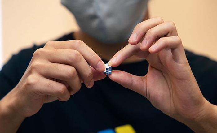 Người Nhật chế tạo khối Rubik nhỏ nhất thế giới với giá bán đắt đến bất ngờ