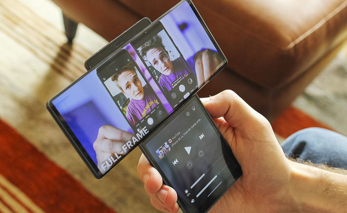 Smartphone màn hình xoay LG Wing có giá chính thức là 999 USD, lên kệ vào ngày 15 tháng 10