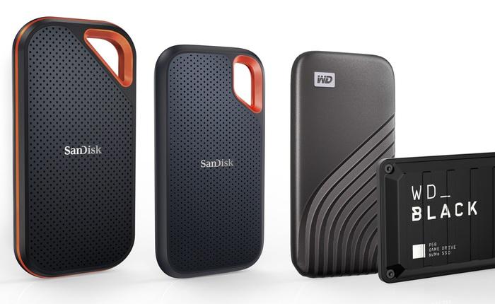 [CES 2021] WD ra mắt loạt ổ cứng SSD 4TB cao cấp: Tốc độ từ 1 - 2GB/s, có chống sốc, chống nước, giá siêu đắt