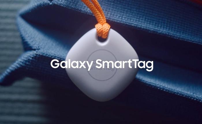 """SmartTag, phần cứng """"mới tinh"""" của Samsung dành cho hội """"não cá vàng"""""""
