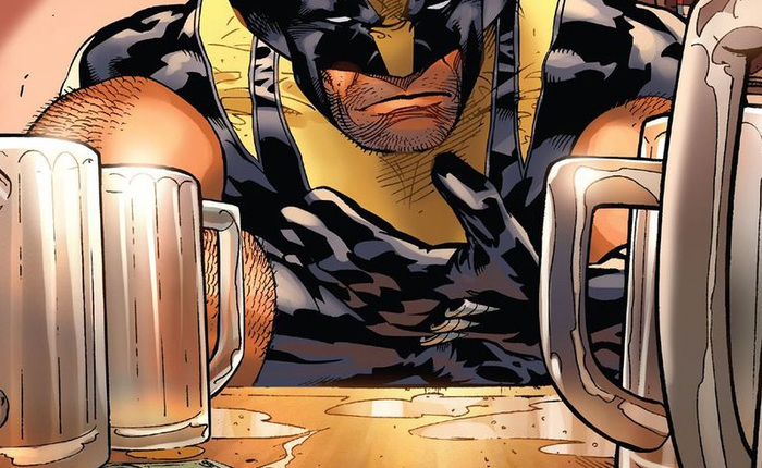 Wolverine phải lợi dụng sức mạnh của dị nhân khác để có thể say khi nhậu