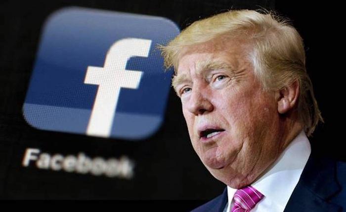 """Facebook tuyên bố khóa """"vô thời hạn"""" tài khoản của Tổng thống Donald Trump"""