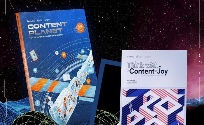 Tạp chí Content Planet: Dũng cảm sáng tạo, thích nghi để bứt phá trong đại dịch