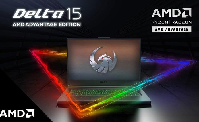 MSI ra mắt laptop gaming cao cấp Delta 15: Ryzen 9 5900X, card đồ hoạ Radeon RX 6700M, giá 44.2 triệu đồng