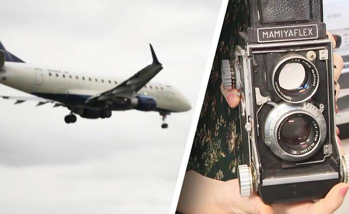Người phụ nữ tưởng nhầm camera cổ điển là bom, khiến máy bay phải hạ cánh khẩn cấp