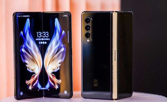 Samsung W22 5G ra mắt: Là Galaxy Z Fold3 đổi tên nhưng chỉ dành cho người dùng Trung Quốc, giá 60 triệu đồng