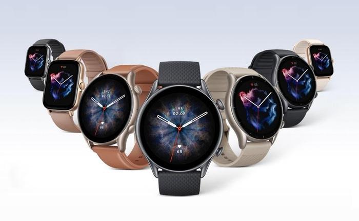 """Amazfit ra mắt bộ ba smartwatch GTR 3, GTR 3 Pro và GTS 3: Có """"núm vặn"""" như Apple Watch, GPS tích hợp, pin 2 tuần, giá từ 4 triệu"""