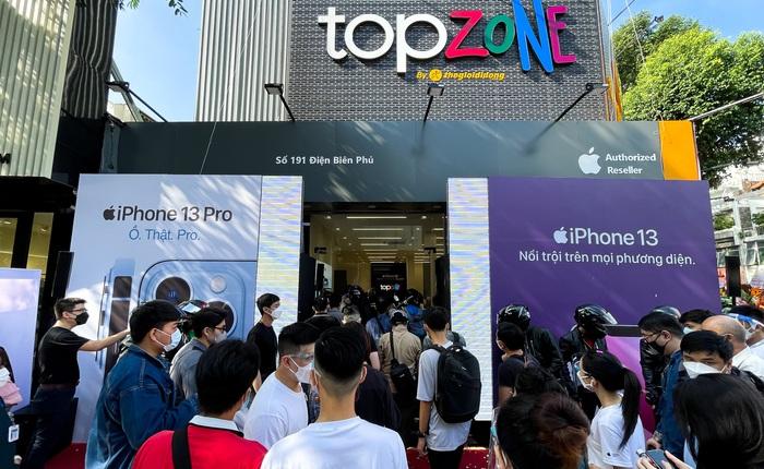 TopZone của Thế Giới Di Động chính thức đi vào hoạt động từ hôm nay, dự kiến doanh thu có thể lên đến 10 tỉ đồng/tháng với cửa hàng quy mô lớn