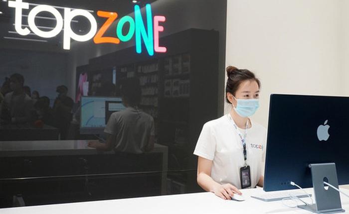 Bên trong cửa hàng TopZone đầu tiên của Thế Giới Di Động có gì?